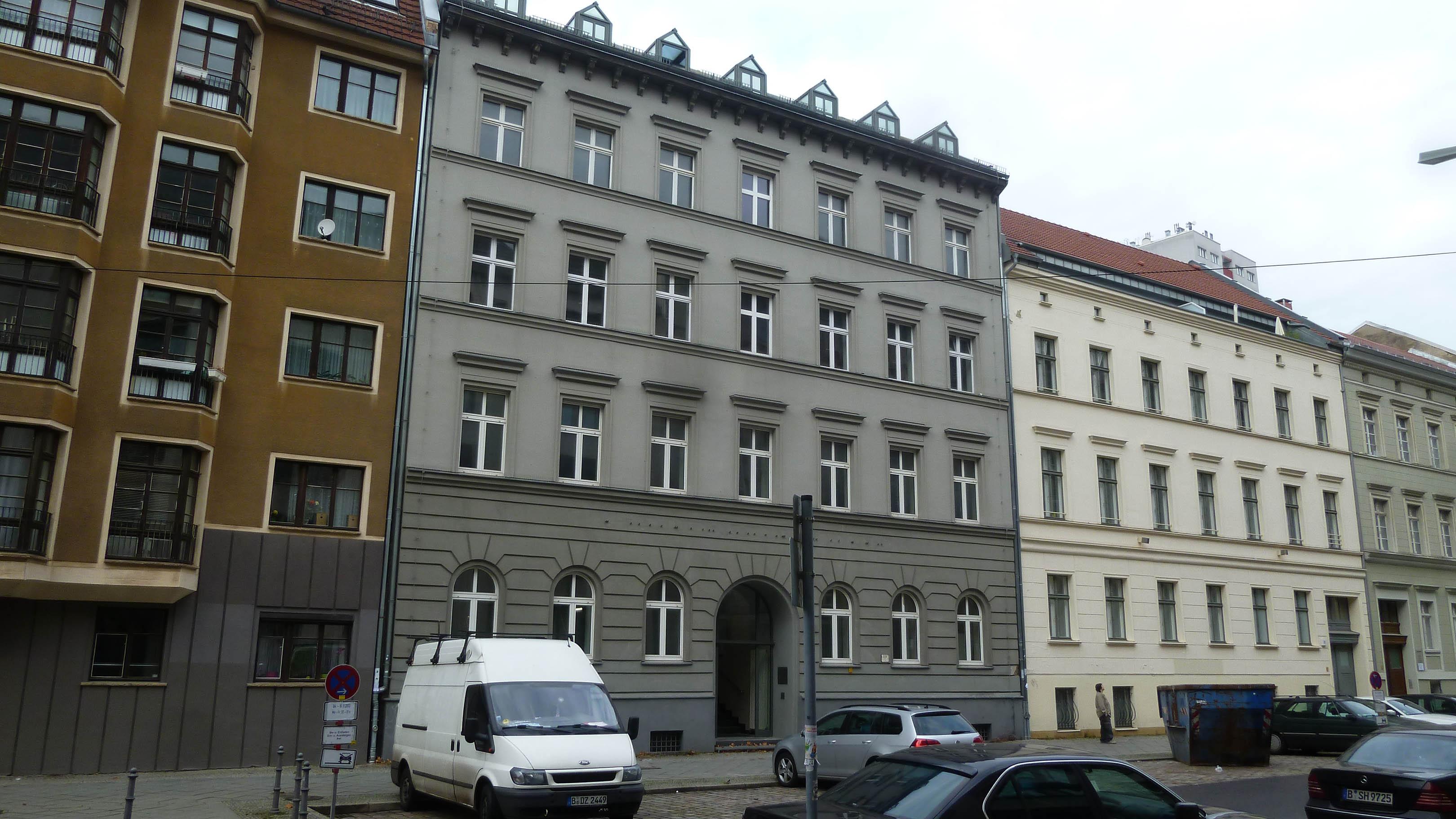Danziger und weibezahl berlin mehrfamilienhaus in berlin for Mehrfamilienhaus berlin